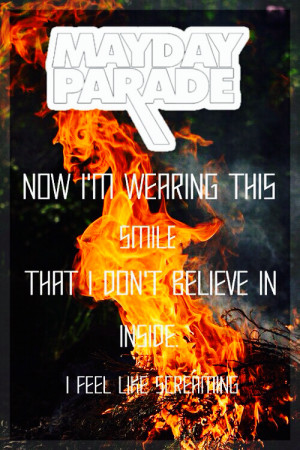 Mayday parade ~ bruised and scarred