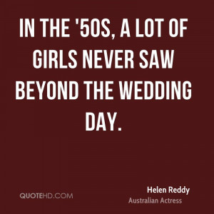 Helen Reddy Wedding Quotes