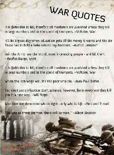 war quotes anti war quotes war quotes and sayings greatest war quotes ...