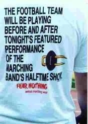 ... tell me I'm not the only band geek out ... | Once a Band Geek