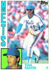 Mets Card of the Week: 1984 Tom Seaver