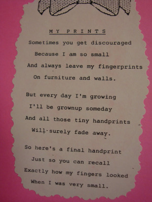 Mothers Day Poems Handprint Poem