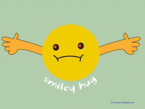 Click to zoom Go back to Smiley Hug wallpapers page