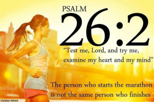 Psalm 26.2 for runners: