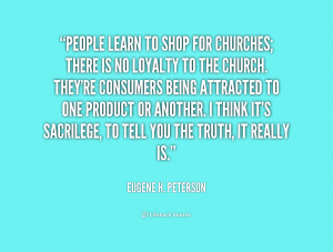 Quotes About Church People