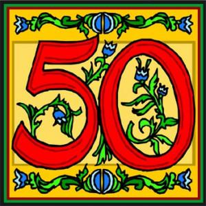 50th Birthday Give Away WINNERS!