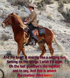 The Cowboy Rides Way - George Strait More