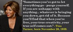 Tina Turner, born November 26, 1939. I totally agree. #TinaTurner # ...