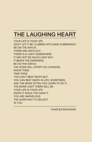 the laughing heart | evolutionyou.net