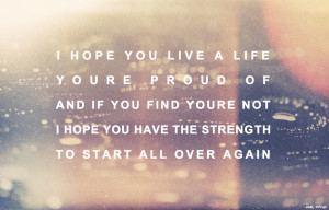 Scott Fitzgerald Quotes I Hope You Live A Life This Eric Roth quote ...