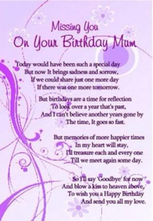 in heaven quotes happy birthday in heaven mom happy birthday mom in ...