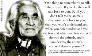 In Their Words – Chief Dan George
