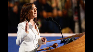 Barack Obama, Kamala D. Harris, Democratic National Convention