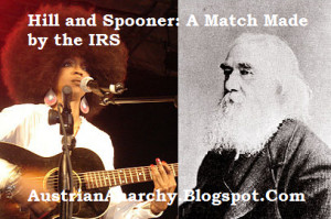 ... Lauryn Hill channels Lysander Spooner in her defense against the IRS