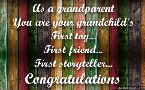 Congratulations for Becoming Grandparents: Messages for Grandpas and ...