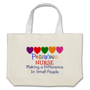 Paediatrics Nurse MAKING A DIFFERENCE SMALL PEOPLE Bag