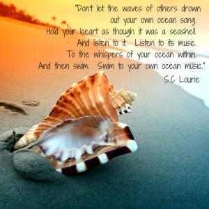 ocean seashells