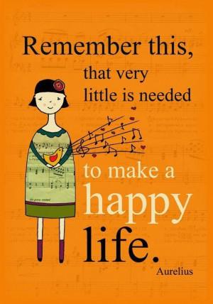 Life, quotes, sayings, wise, happy, aurelius