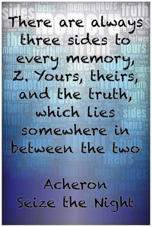 Quote about Truth from Sherrilyn Kenyon's Dark Hunter series by ...