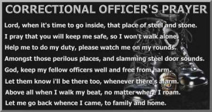 Correctional Officer's Prayer