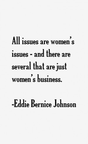 Eddie Bernice Johnson Quotes & Sayings