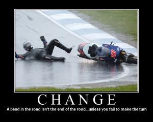 change funny demotivational poster