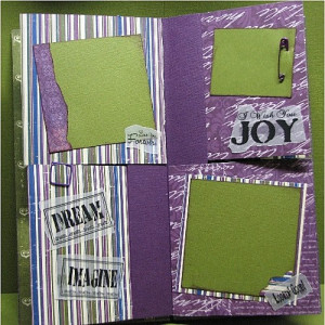 Quick Quotes Scrapbook Page Layout Ideas