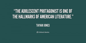 The adolescent protagonist is one of the hallmarks of American ...