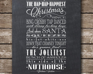 Christmas Vacation Quote - Clark Gr iswold - Printable Poster ...