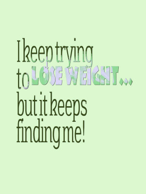 Keep your humor – funny and cool weight loss quotes.