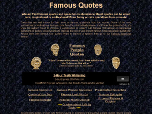 Famousquotes information: