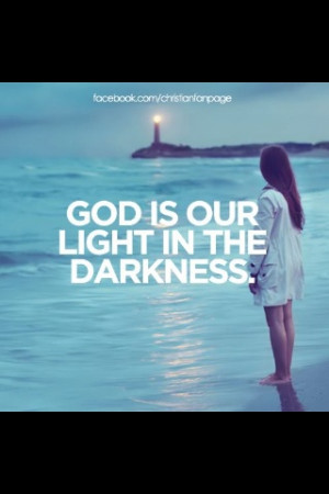 My God, my light