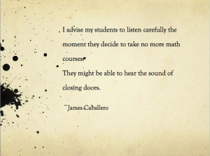 The harsh truth:/ @adrienne Wilen keep taking your crazy intense math ...