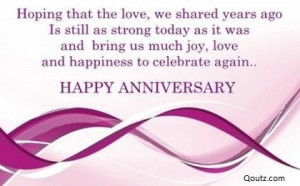 Anniversary Quotes Greetings and Facebook Status