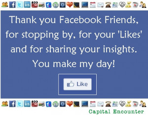 ' and for sharing your insights. You make my day! #facebook #quotes ...