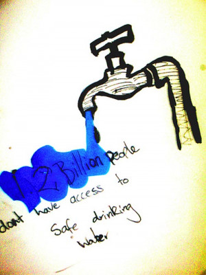 safe-water 18 Creative Poverty Posters That Can Create Effective ...