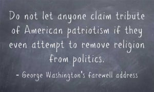 George Washington our founding Father who built the United States upon ...