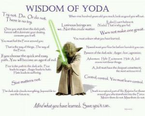 Wisdom Of Yoda - Star Wars Jedi