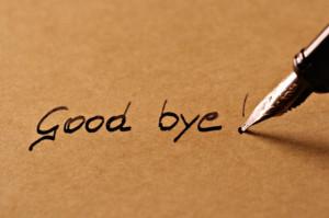 Good Bye ~ Break Up Quote