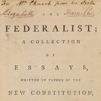 "federalist 51 analysis Federalist #51 is the last of 15 essays written by madison on ""the great difficulty"" of founding there are 10 paragraphs in the essay."