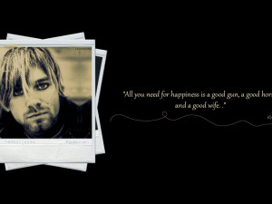 kurt cobain sayings quotes