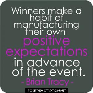 Positive+Motivational+Quotes | Positive quotes - Winners make a habit ...