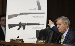 Heated debate: Senate Judiciary Committee member Sen. Lindsey Graham ...