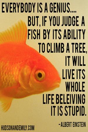 Climb Tree And Will Believe Stupid Einstein Quote
