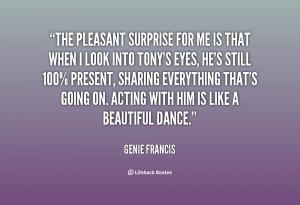 Pleasant Surprise Quotes