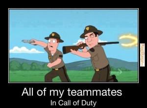 Call of duty teammates – [Funny memes]