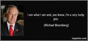 More Michael Bloomberg Quotes