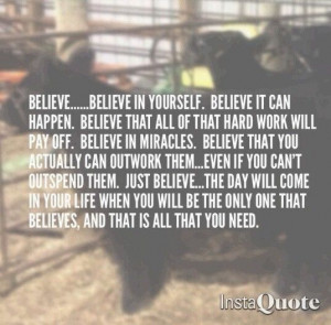 Stock Show Life Quotes Stock show life. via mattie gibble
