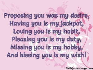 kissing you is my wish...