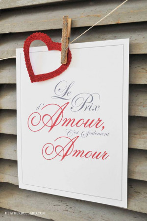 french love quote free printable a romantic french love
